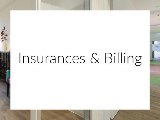 Insurances & Billing
