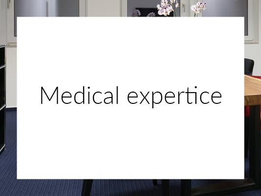 Medical expertice