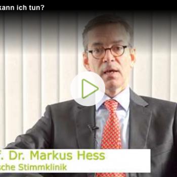Prof. Hess DEUTSCHE STIMMKLINK