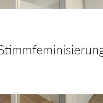 Stimmfeminisierung MEDICAL VOICE CENTER