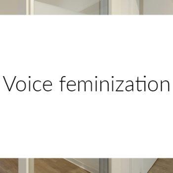 Voice feminization MEDICAL VOICE CENTER