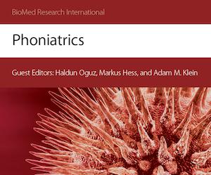 Paper Phoniatrics - 2015