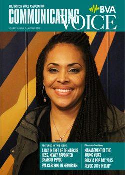 Titlepage BVA Newsletter 2015
