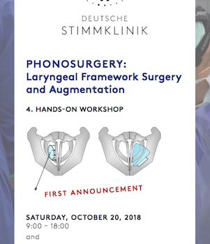 Phonosurgery- Laryngeal Framework Surgery and Augmentation