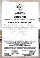 Flyer Qigong - MEDICAL VOICE CENTER