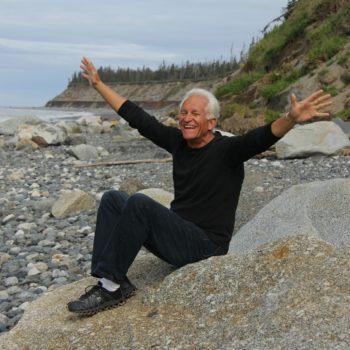 Mann glücklich Altersstimme
