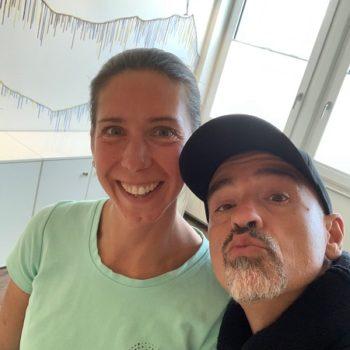 Britta + Eros Ramazoti