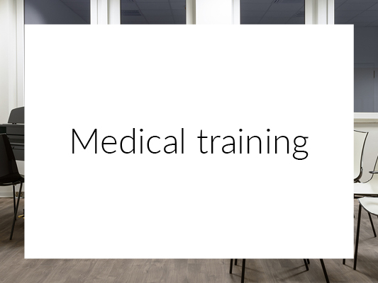 Medical training